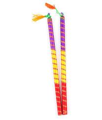 sanjog dandiya stick pack of 12 6 pair buy sanjog dandiya stick