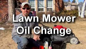 How To Change The Oil In A Honda Lawn Mower Youtube