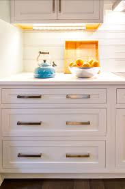 Kitchen Hardware Ideas Transitional Beach House Home Bunch