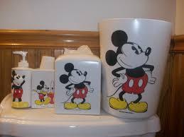 Disney Bath Rug Mickey Mouse Bathroom Set New Decoration Mickey Mouse Bathroom