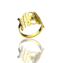 Custom Monogram Rings Compare Prices On Monogram Ring Online Shopping Buy Low Price