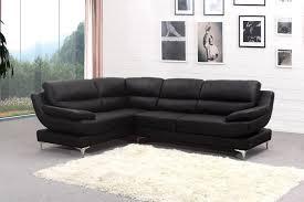 Black Leather Corner Sofa Black Corner Sofa And