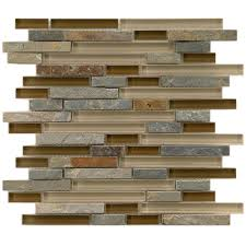 Home Depot Kitchen Backsplash by Backsplash Glass Tile Flooring The Home Depot Contemporary