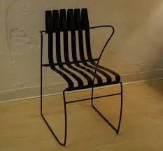 Retro Metal Patio Chairs Bent Metal Patio Chair