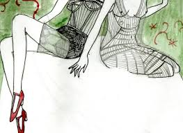 yelena bryksenkova jazz age fashion sketches