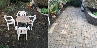 Best Sealer For Flagstone Patio by Paver U0026 Stone Cleaning And Sealing Northern Va