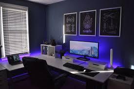 bureau logement tours schöne umsetzung moodlight mit einem monitor außerdem gefallen