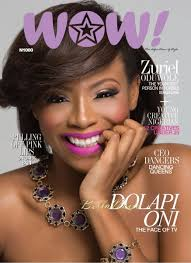 so beautiful media personality dolapo oni is the cover star for