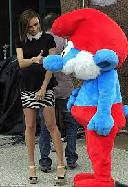Baby Smurf Meme - giuliana rancic glams up in a chic miniskirt but is overshadowed