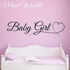 online get cheap baby girl wall stickers hearts aliexpress com mad world baby girl children kids heart wall art stickers decal home diy decoration removable bedroom decor wall stickers