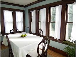 Brown Dining Blue Room Blue Walls With Brown Trim For The Home Pinterest Brown Trim