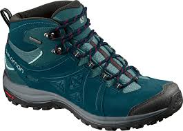 womens boots hiking salomon s ellipse 2 mid ltr gtx waterproof hiking boots