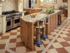 kitchen floors ideas kitchen flooring ideas pictures hgtv