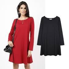 coloured dress sleeve plain coloured dress