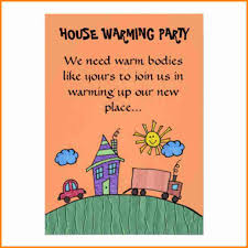 House Warming Invitation Card 9 Free Housewarming Invitations Budget Template