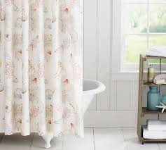 Pottery Barn Kids Shower Curtains Monogrammed Shower Curtain Pottery Barn Home Decorating