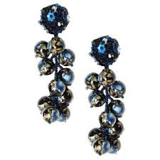 navy blue earrings navy blue earrings shop for navy blue earrings on polyvore