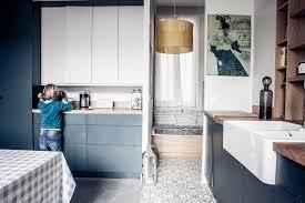 cuisine appartement parisien un haussmannien revisité 150m marque de fabrik