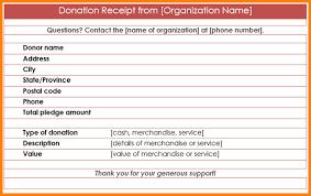 9 sample donation receipt restaurant receipt