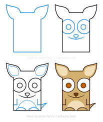 how to draw a chihuahua clipart animals pinterest