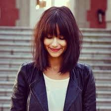 bob with bangs hairstyles for overweight women 12 pretty mid length hairstyles for women long bob bobs and