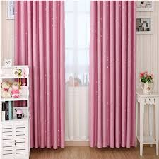 Different Designs Of Curtains Bedroom Awesome Stars Patterns Girls Pink Curtains For Blackout