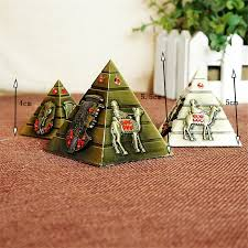 pyramid alloy pattern home decoration ornaments office