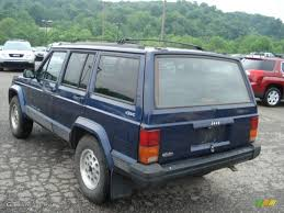 jeep dark blue 1996 dark blue pearl jeep cherokee sport 4wd 66487772 photo 4