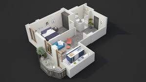 One Bedroom Apartment Floor Plans by 40 More 1 Bedroom Home Floor Plans