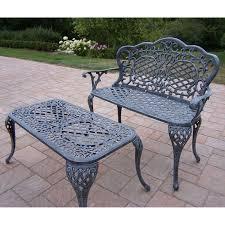 oakland living mississippi cast aluminum rocking chair hayneedle