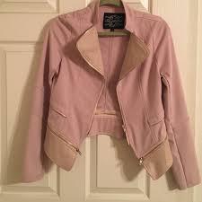 light pink blazer womens 33 off shinestar jackets coats womens light pink textured blazer