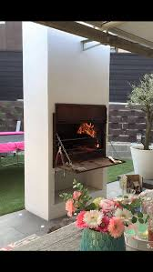 braaimaster outdoor kitchen and fireplace bigfire