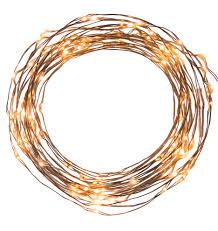 Led Wire String Lights by 120 Led String Lights 20 U0027 Cord Rejuvenation