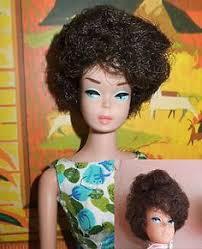 bubble cut hair style 1960 s bubble cut barbie brunette doll brunettes bubbles and barbie