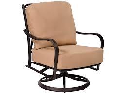 Swivel Rocker Patio Chairs Best Swivel Rocker Patio Chair With Woodard Apollo Aluminum Swivel