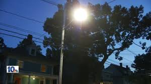 some providence residents say new streetlights are too bright wjar