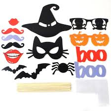 halloween pumpkin lips photo booth props decorations party