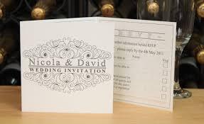 tri fold wedding invitations wedding corners