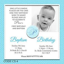 joint christening and 1st birthday invitations images invitation