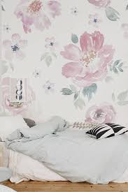 Home Floral Decor Floral Wallpaper Flower Wallpaper Wall Mural Floral Home