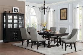 Dining Room Arm Chairs Homelegance Reid Formal Dining Room Set With Arm Chairs