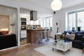 interior design kitchen living room kitchen integrated apartment interior with open kitchen also