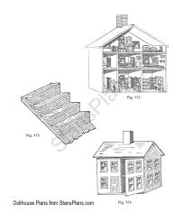 marvellous free american doll house plans contemporary best