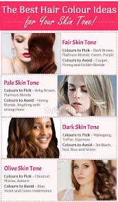 Hair Colors For Light Skin Hair Colors For Your Skin Tone Best Ideas To Choose The Right