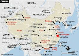 map of china and cities china cities cities in china
