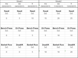 5x5 Bench Press Workout 5x5 Workout For Beginners Album On Imgur