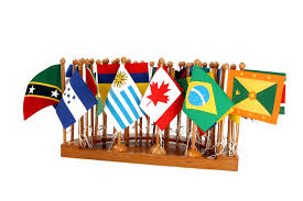 South America Flags Flag Stand Of North U0026 South America Semicircle The Montessori