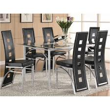 coaster dining room sets 101681 coaster furniture los feliz dining room table