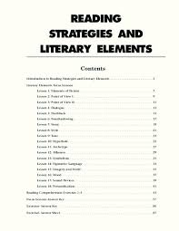 literary elements worksheet free worksheets library download and