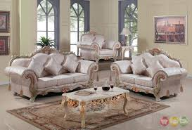 luxurious traditional victorian formal living room set antique